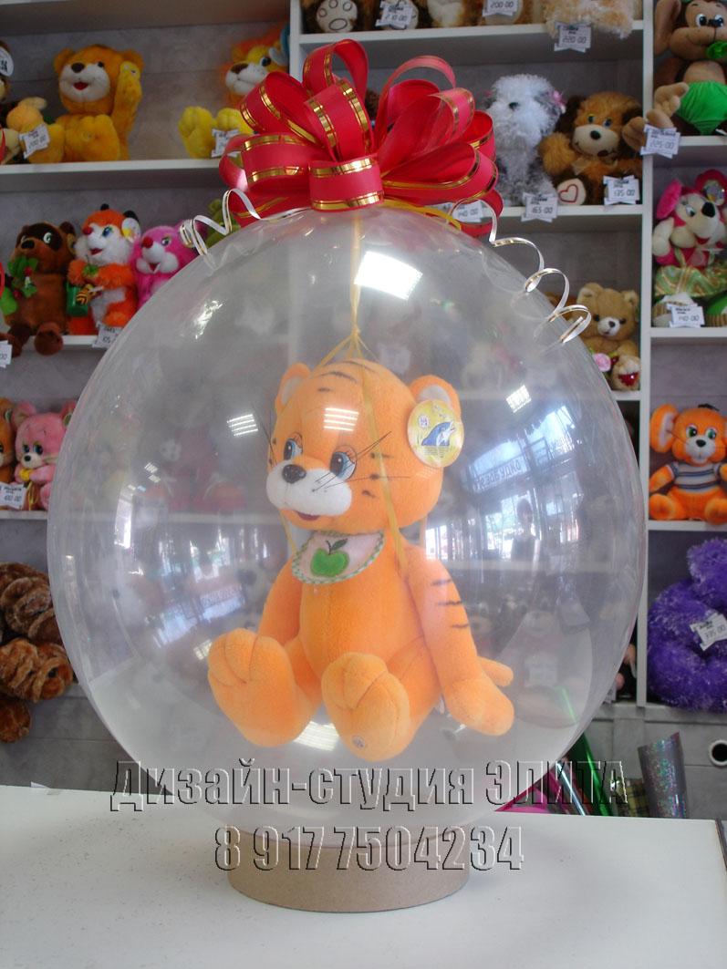 Мягкие игрушки как упаковка для подарка 337
